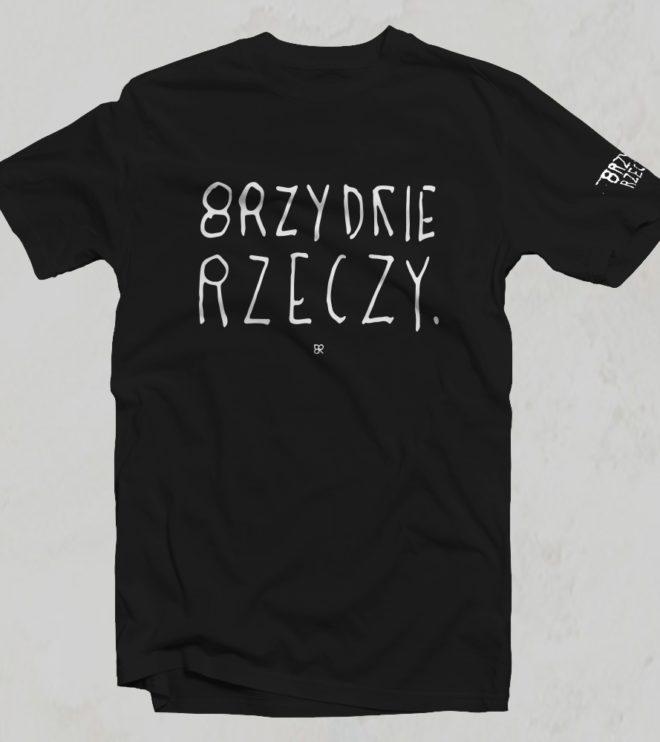 Brzydkie Rzeczy koszulka bawełna unisex czarna