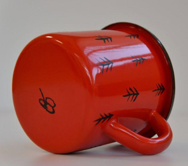 Kubek emaliowany - Czerwony Mag - edycja limitowana