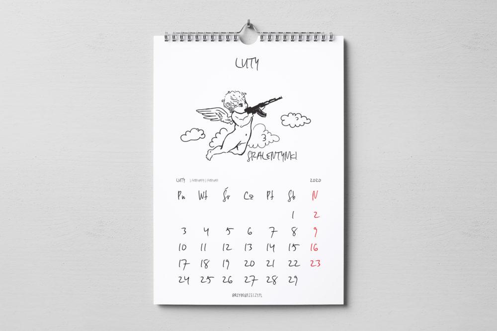 Kalendarz 2020 do wydrukowania