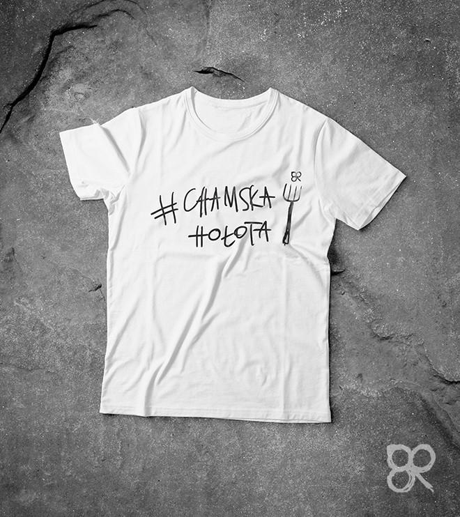 Chamska Hołota koszulka z nadrukiem